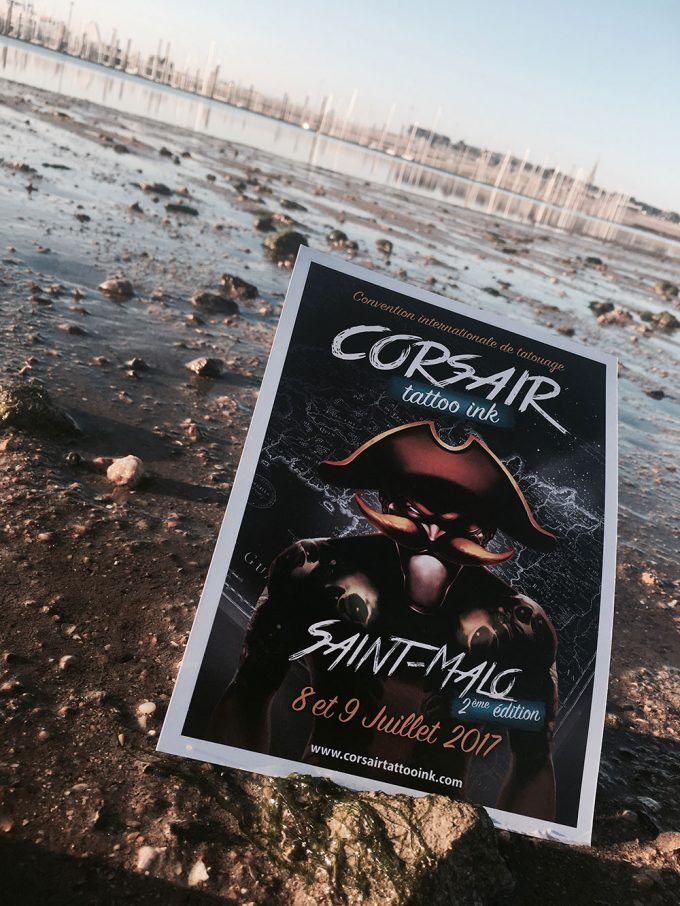 CORSAIR TATTOO INK : LA CONVENTION DE TATOUAGE DE SAINT-MALO REVIENT EN 2017 !