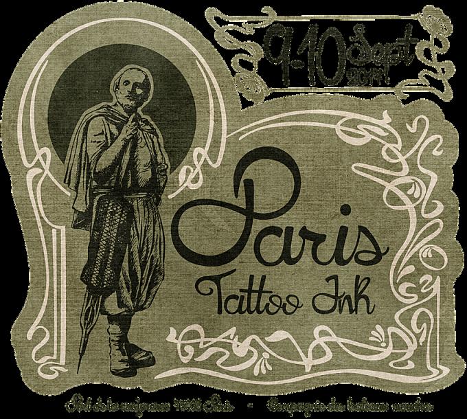 Paris Tattoo Ink à bord des bateaux-mouches les 9 & 10 septembre 2017