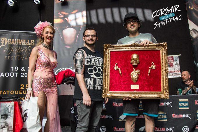 Retour sur les concours de tatouage du Corsair Tattoo Ink 2017
