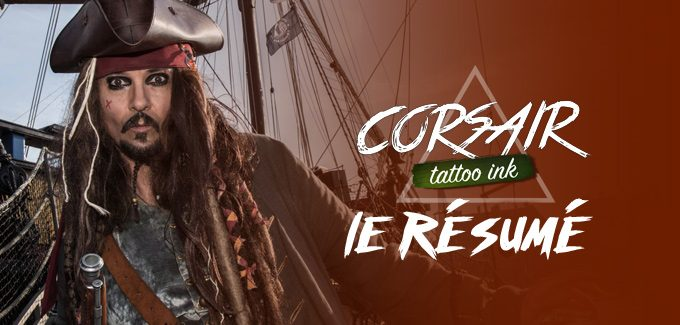 Corsair Tattoo Ink 2018 : le résumé