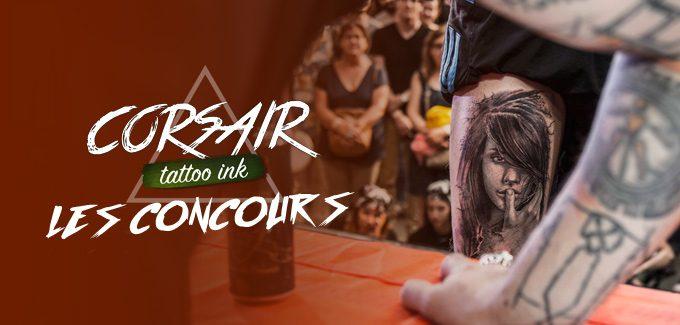 Corsair Tattoo Ink 2018 : les lauréats des concours