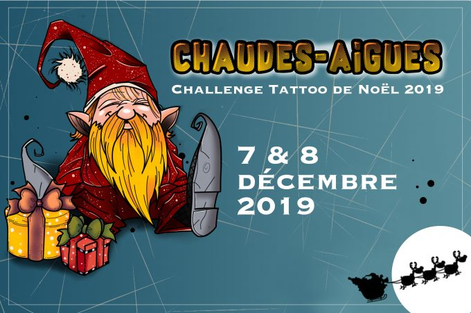 Noël 2019 : le Corsair Tattoo Ink embarque à bord du Challenge Tattoo de Chaudes-Aigues