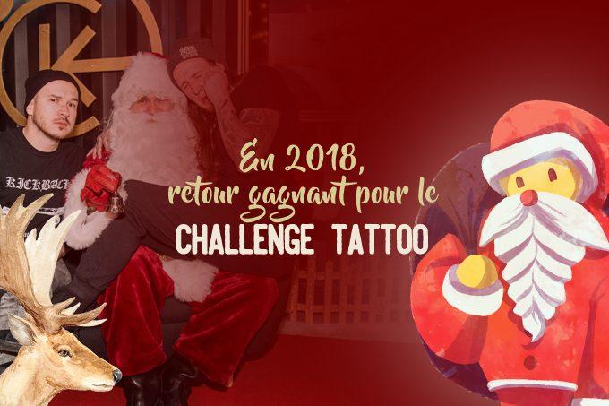 En 2018, retour gagnant pour le Challenge Tattoo