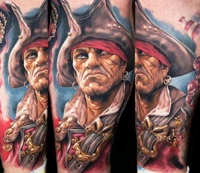 Galerie : les plus beaux tatouages sur le thème des pirates