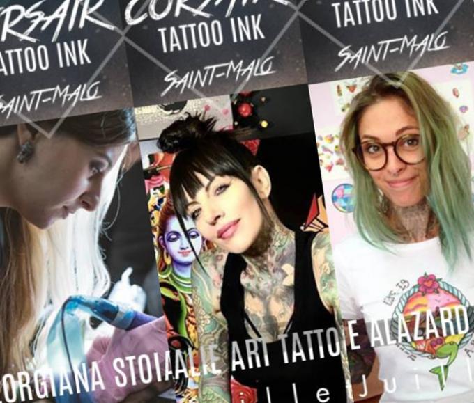 Les femmes du Corsair Tattoo Ink 2019