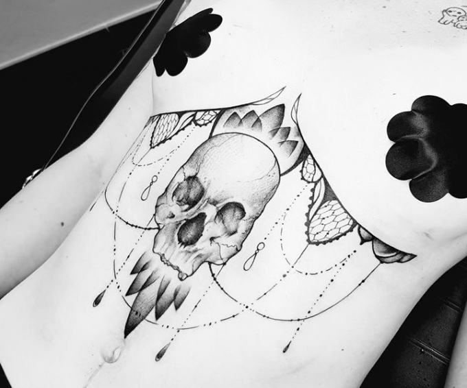 13 experts du tatouage noir et gris au Corsair Tattoo Ink 2019