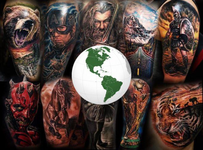 Ils traverseront l'Atlantique pour participer au Corsair Tattoo Ink 2019