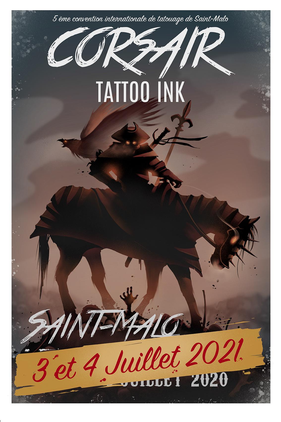 Calendrier Convention Tatouage 2022 Une convention de tatouage unique à Saint Malo   Corsair Tattoo Ink