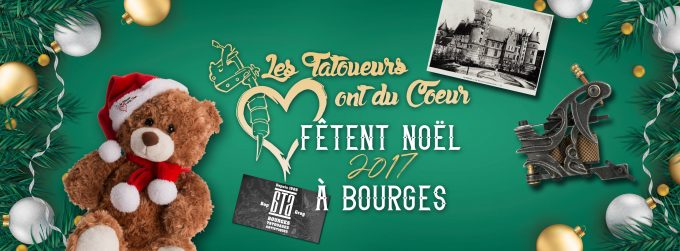 En 2017, Le Corsair Tattoo Ink passe Noël à Bourges !