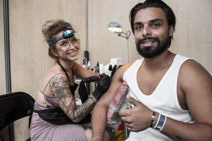 Comment se faire tatouer pendant le Corsair Tattoo Ink 2018 ?