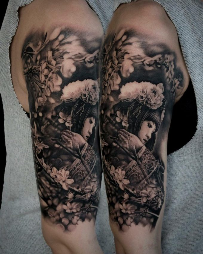 Bacanu Bogdan, tatoueur roumain et malouin