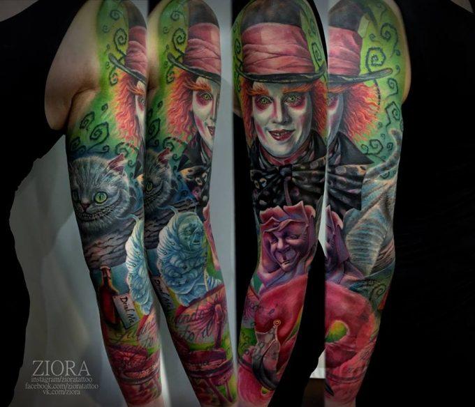 Lyudmila Ziora : une ambassadrice du tatouage russe au Corsair Tattoo Ink 2018