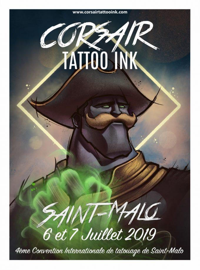Corsair Tattoo Ink 2019 : découvrez l'affiche officielle !