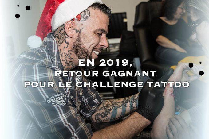 En 2019, retour gagnant pour le Challenge Tattoo
