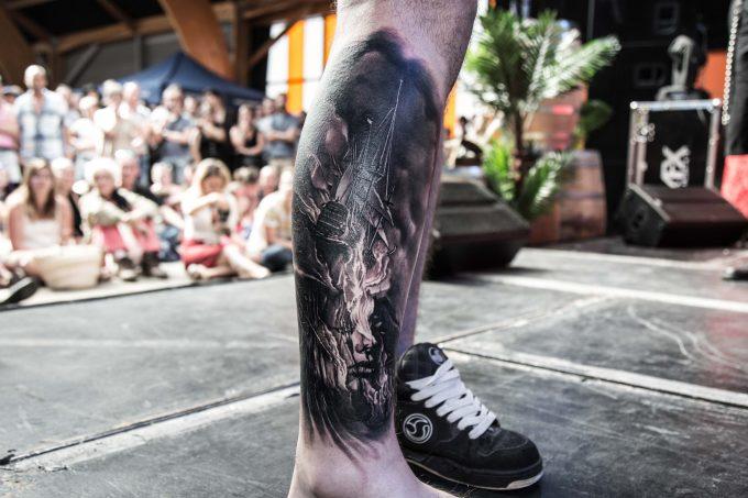 Tatouages de navires : les plus belles pièces du Corsair Tattoo Ink