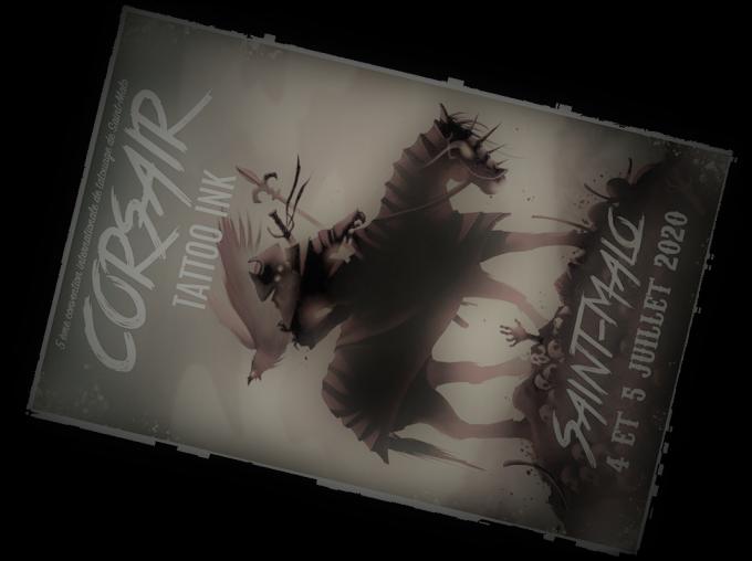 Le Corsair Tattoo Ink 2020 est annulé
