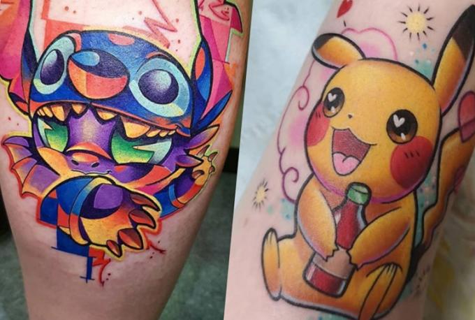 5 artistes de la couleur qui détonne au Corsair Tattoo Ink 2020