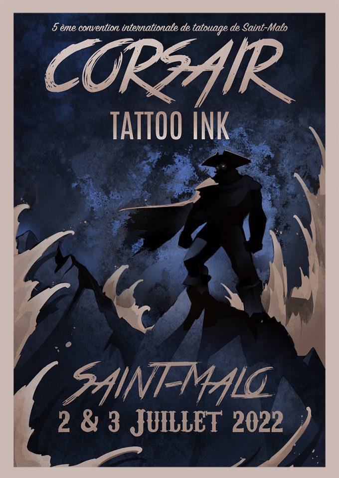 Corsair Tattoo Ink : découvrez l'affiche officielle du festival en 2022 !